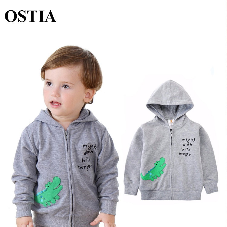 OSTIA Baby hoodies,new 2016,baby coat,autumn/winter clothing,baby boy girl clothes,thin tops,children outerwear D07(China (Mainland))