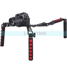 Buy Foldable DSLR Rig Movie Kit Film Making System Shoulder Rig Mount Camera Camcorder Canon Nikon Pentax for $68.53 in AliExpress store