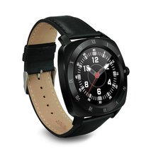 Hot sale! Smart Watch MEAFO EF88 Waterproof Call Reminder Leather Strap rate monitor Wristwatch for iOS Apple Android Smartphon