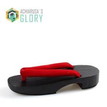 Женщины Сандалии 2017 Лето Флип-Флоп дизайнер Японский Гета деревянные Сабо тапочки обувь женщина Косплей Гета Квартиры sandalias mujer(China (Mainland))