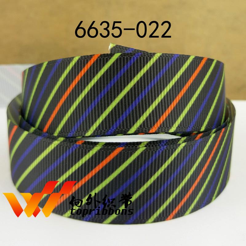 """Free shipping 50 yards ribbon 7/8"""" 22MM halloween ribbon cartoon ribbon grosgrain ribbon 6635-022(China (Mainland))"""
