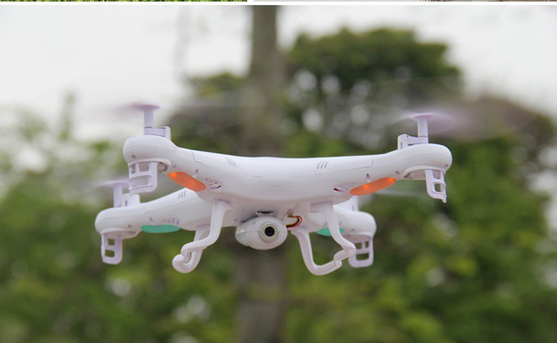 New Version Drone SYMA X5C 2.4GHz 4CH 6 Axis RC Quadcopter with 2MP Camera 2GB TF Card(China (Mainland))