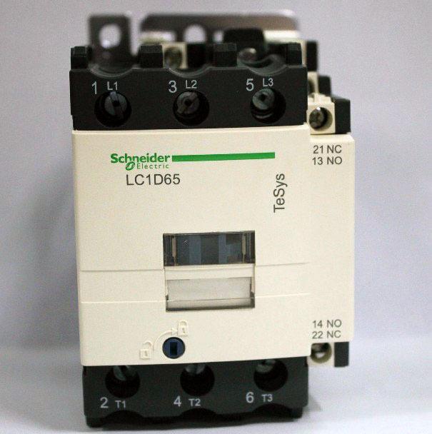Фотография LC1D65F7C LC1-D65F7C  Contactor 65A AC 110V 50/60Hz New
