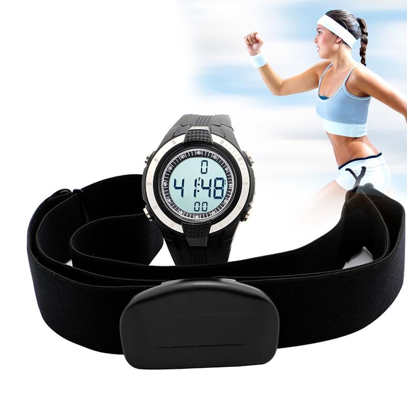 2016 новый беспроводной женщин монитор сердечного ритма часы фитнес женщины спортивные часы дамы нагрудный открытый велоспорт восхождение relojes