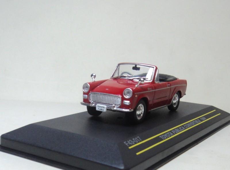 Ixo 1:43 TOYOTA PUBLICA CONVERTIBLE 1964 TOYOTA coupe convertible car(China (Mainland))