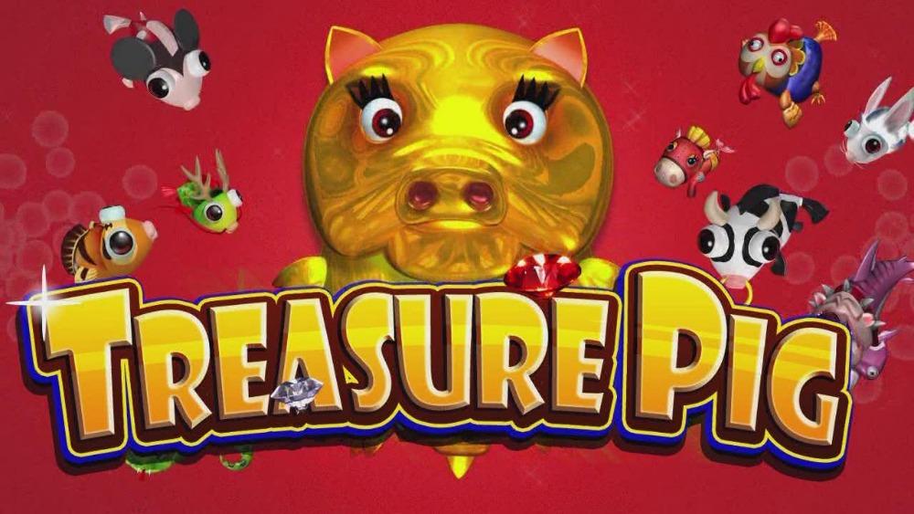 Treasure Pig Fishing Game