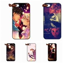 Samsung Galaxy 2015 2016 J1 J2 J3 J5 J7 A3 A5 A7 A8 A9 Pro Tangled Flynn Rapunzel Cover Case Coque - The End Phone Cases store