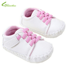 Baby Girls Shoes Carter's Prewalker Babe Girl Sneakers PU First Walkers Spring Autumn Toddlers Footwear Free Drop Shipping 2016(China (Mainland))