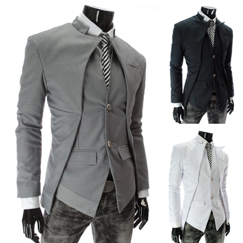 Slim Homme Couleur Slim Fit Costumes Homme