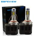 12V 24V 30V P6 55W replacement 9012 Headlight LED Bulb 10400LM Auto parts Lamp 5000K 6000K