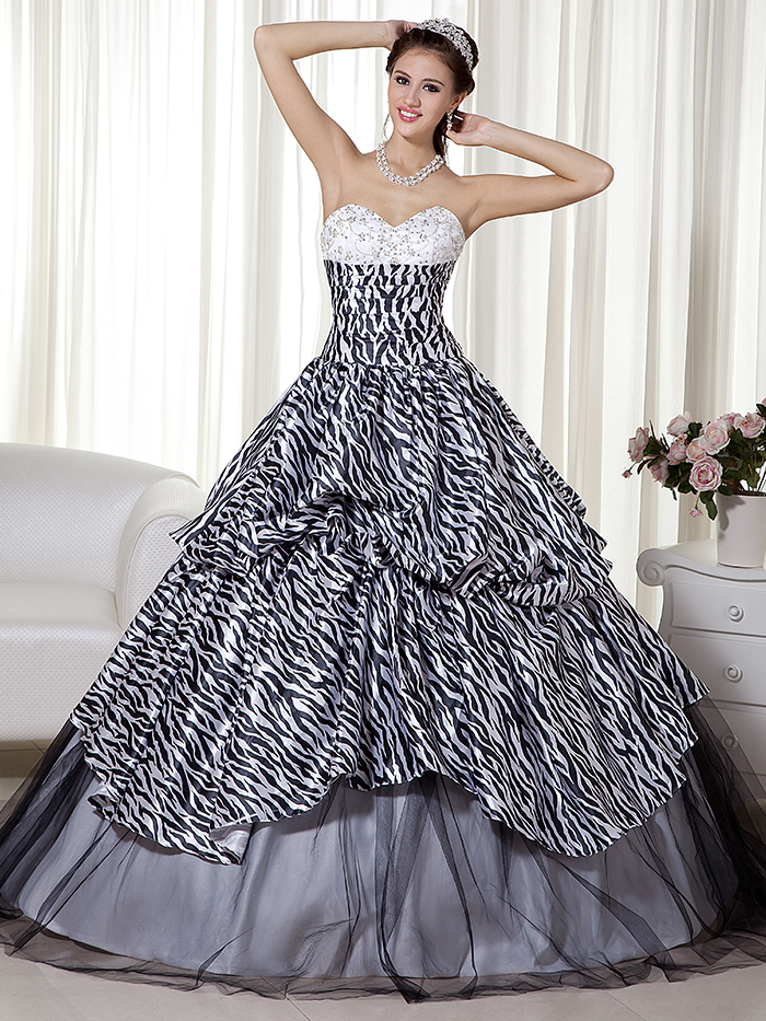 Zebra Wedding Dresses 102