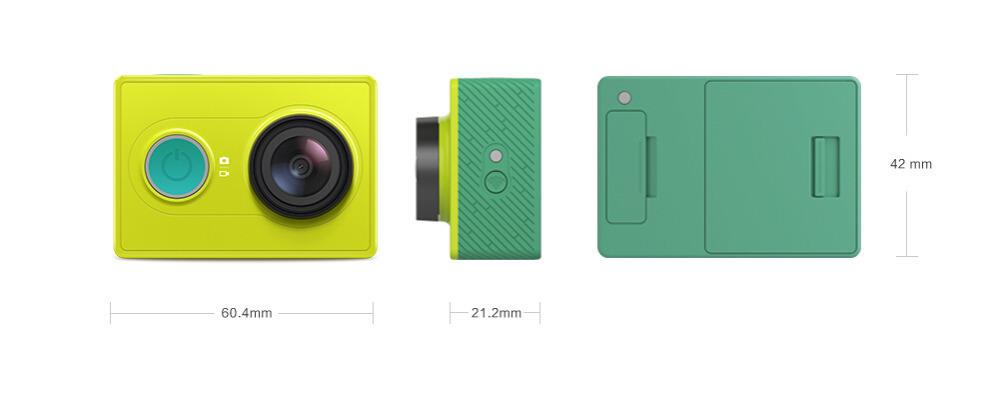 Action Mini Camera Xiaomi yi Original Sport Camera Standard Edition 6MP 1920x1080p WIFI Bluetooth 4.0 Xiao yi Smart Camera(China (Mainland))