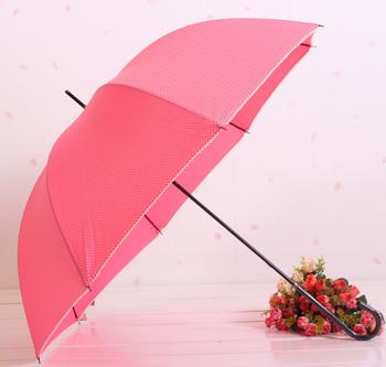 Mos queen ivory dot long-handled umbrella apollo umbrella multicolor