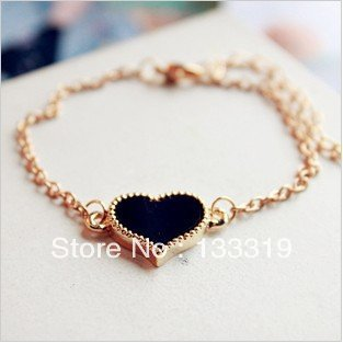 Wholesale Fashion classic LOVE Heart Bracelets Jewelry for Women Min.order is $5 (mix order)free shipping(China (Mainland))