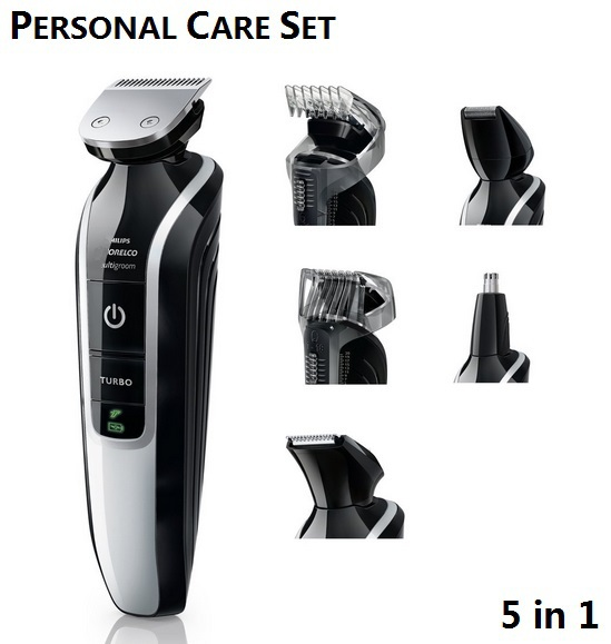 5in1 Electric trimmer hair clipper trimer shaver beard trimmer nose for men rechargeable cutting machine to haircut waterproof(China (Mainland))
