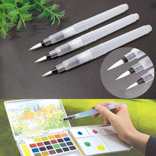 Refillable Pilot Water Brush Ink Pen for Water Color Calligraphy Drawing Painting Illustration Pen Office Stationery