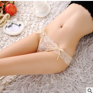 Hot Sale Sexy Lace Panties Seamless G string Underwear Women T Panty Transparent Briefs Lingerie Low