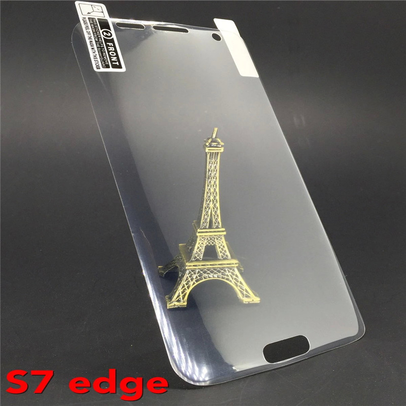 2016 new brand Fashion New Clear 3D PET Curved Film Screen Protector Samsung Galaxy S7 edge Soft Flim - dessy store