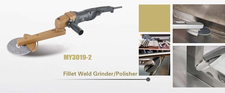 900W Angle Polisher fillet weld grinder sanding polisher for metal processing(China (Mainland))