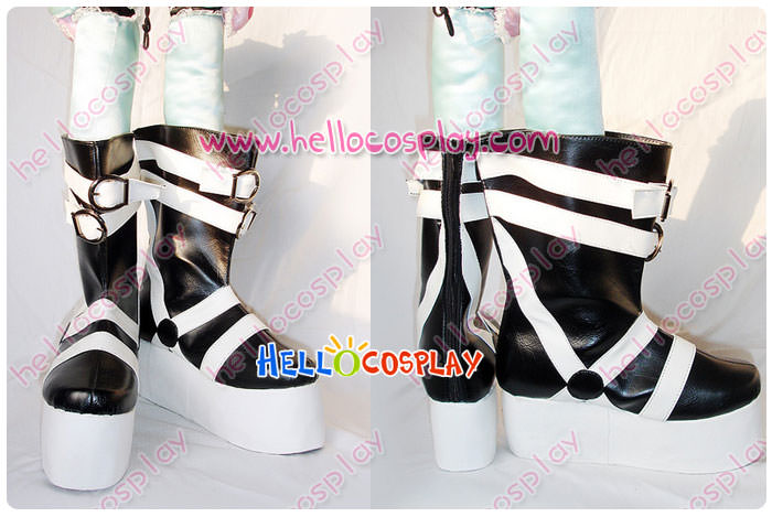 Free Shipping Soul Eater Cosplay Maka Albarn Boots High Soles Tailor-Made(China (Mainland))