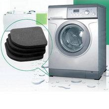 High Quality Washing machine shock pads Non-slip mats Refrigerator Anti-vibration pad 4pcs/set(China (Mainland))