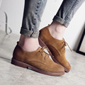 Fashion Women Shoes 2016 Genuine Leather Spring New Fashion Casual Lace Up Breathable Shoes For Women