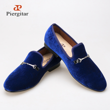 casual shoes fashion High-end custom Buckle Velvet shoes Smoking Slipper Loafers Men Flats shoe Size US 6-14 Free shipping(China (Mainland))