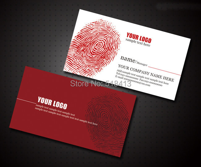 Business card maker template for card double faced for Business card maker template
