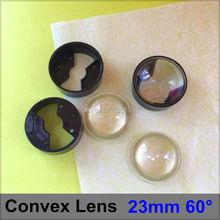Buy 10 sets/lot 23mm 60 degree LED Lenses Black Bracket Holder Set Angle Lens PMMA Optical Lighting Convex Lens Reflector Collimator for $2.50 in AliExpress store