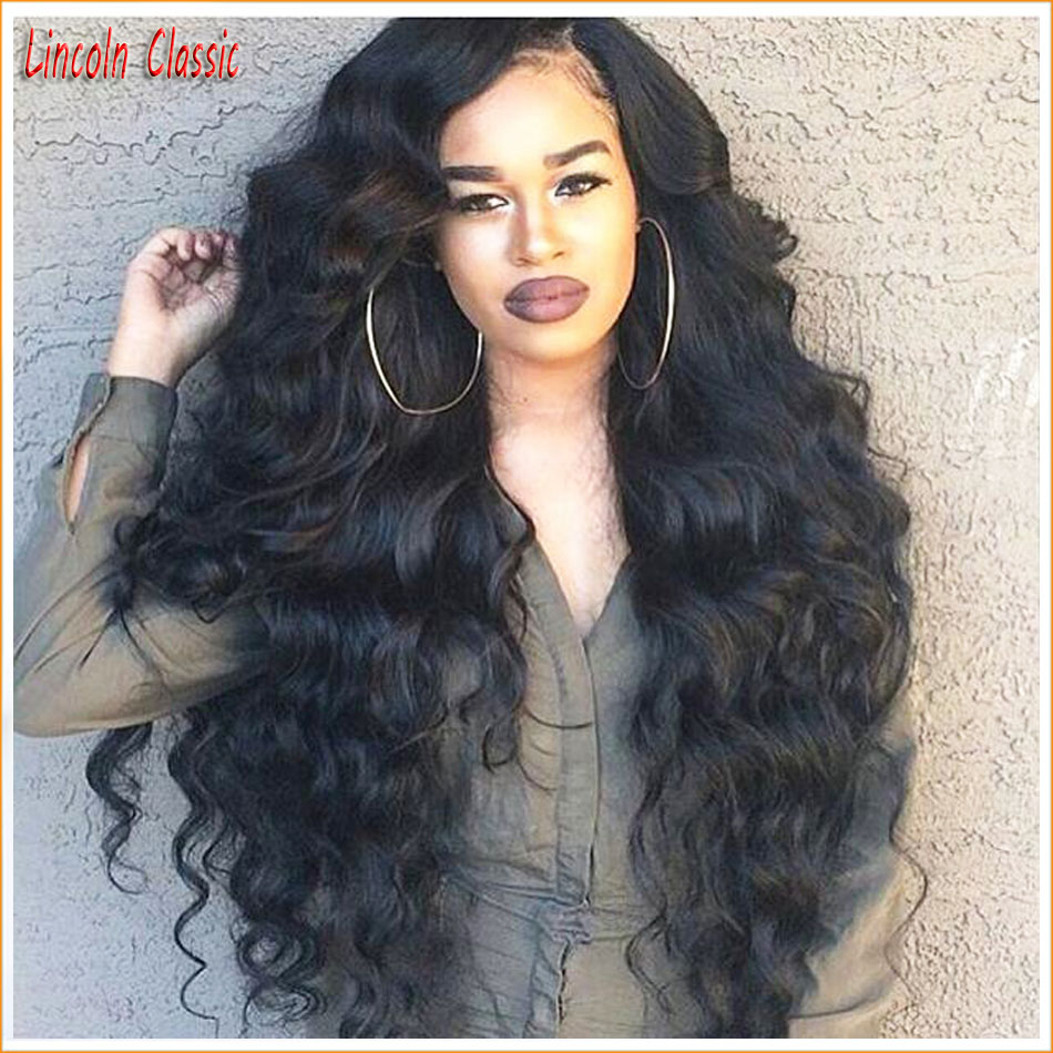 Wavy 4*4 Full Lace Silk Top Wig Body Wave Brazilian Human Hair Silk Base Wigs Or Glueless Lace Front Virgin Hair Silk Top Wig<br>