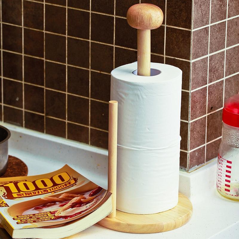 Как сделать подставку для бумажных полотенец из дерева