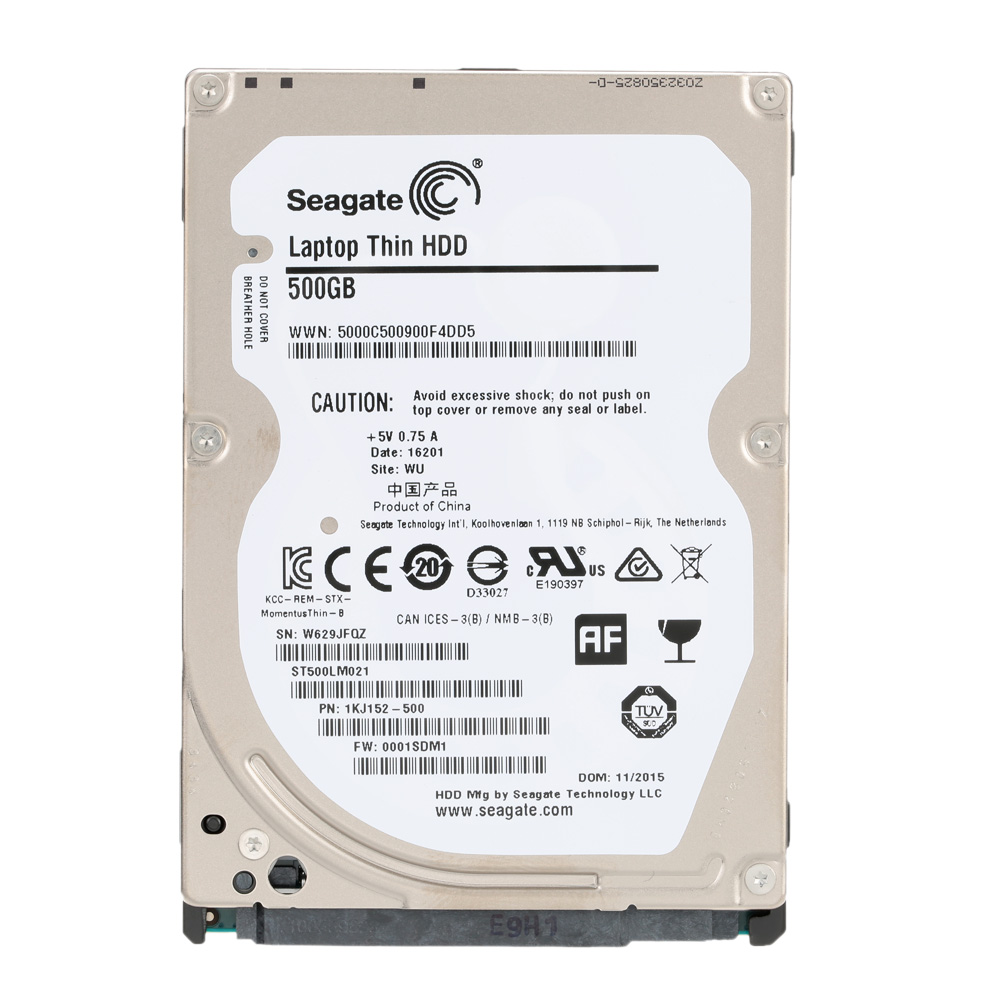 "Seagate 500G Laptop Internal HDD Notebook Hard Disk Drive 7mm 7200RPM SATA 2.5"" Hard Drive 6Gb/s 32MB Cache 2.5-inch ST500LM021(China (Mainland))"