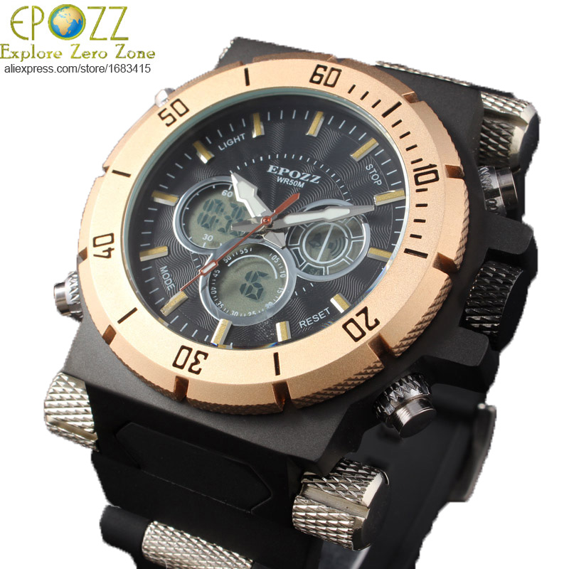 style 194 g weight big mens watches top brand luxury