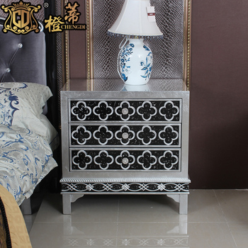 Free Shipping Orange new classical cabinet brief ofhead storage cabinet bed cabinet fashion chuangtougui bedsprings