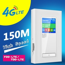 Free Shipping Newest Unlocked 4G Network Router 5200mAh Power Bank 150Mbps WiFi 3G/4G Router Two SIM Card Slot RJ45 Port(China (Mainland))