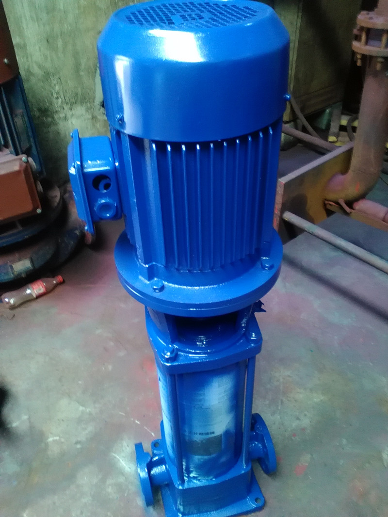 GDL vertical multistage pump fire pump site 50GDL1215X5 booster motor 55KW(China (Mainland))