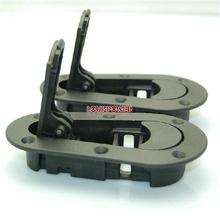 BLACK  D1 JDM Plus Flush Hood Latch and Pin Kit Racing Latch Locks Locking Hood Kit without  lock(China (Mainland))