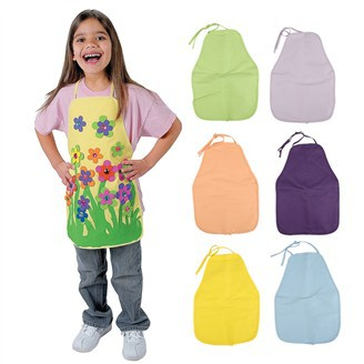 6PCS/LOT,6 color Children's aprons,Decorate your own aprons,Kids apron,Paint tools,Daily accessories.Freeshipping.Wholesale(China (Mainland))