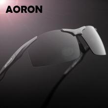 Men's Aluminum Magnesium Polarized Sunglasses Mirror Coated Driver Sun Glass Male Fishing Outdoor Sports Eyewear Oculos For Men