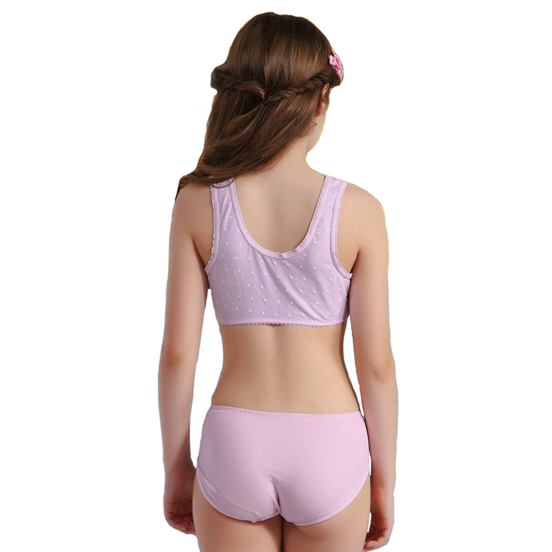 WoFee 2015 Cotton Training Bra and pants sets for young ...