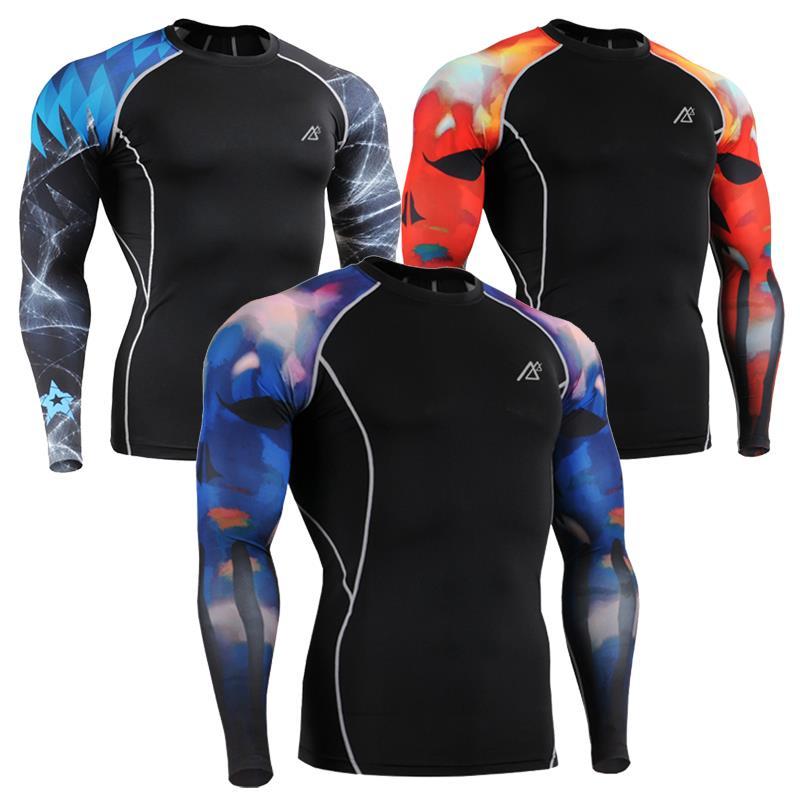 super stretch sport t shirt mens compression tight shirts. Black Bedroom Furniture Sets. Home Design Ideas