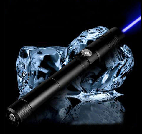 Lasers the Most Powerful Burning Laser Torch X-9 445nm 500000mw 500W Focusable blue laser pointer burn paper free shipping(China (Mainland))
