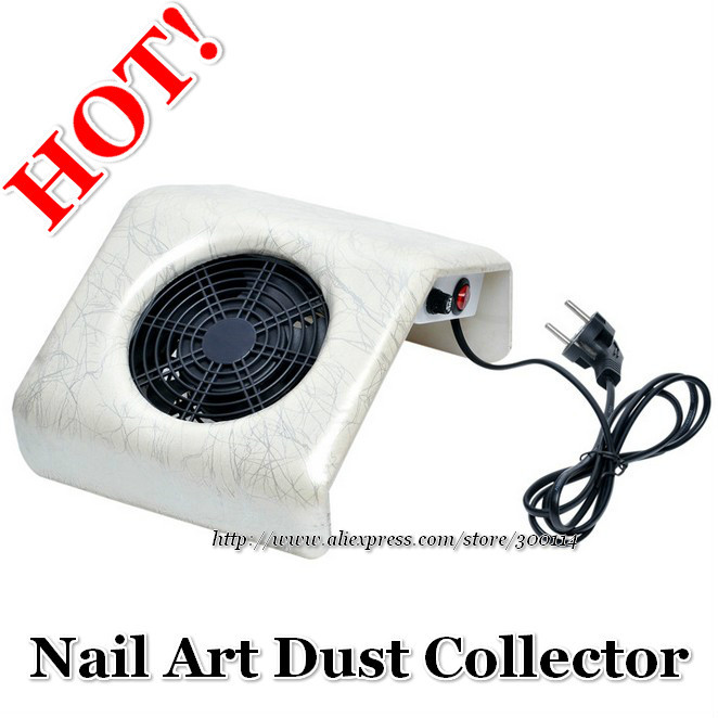 wholesale new arrival EU plug nail dust collector nail art beauty equipment vacuum cleaner 25W 110V -220V 8pcs/lot free shipping