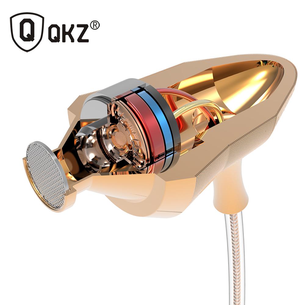 QKZ DM5 En la Oreja los Auriculares de 3.5mm Super audifonos Auriculares Estéreo Para el iphone Samsung Con Micrófono auriculares fone de ouvido auriculares(China (Mainland))