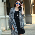 New Fashion Classic Joker All match All Matched Black White Plaid Winter And Autumn Shawl Scarf