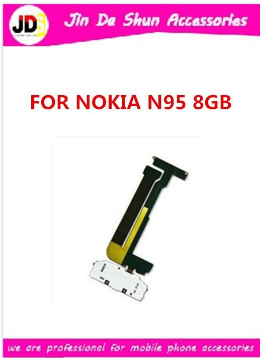 10pcs/lot New Flex Cable Repair For Nokia N95 8GB High quality Free shipping(China (Mainland))