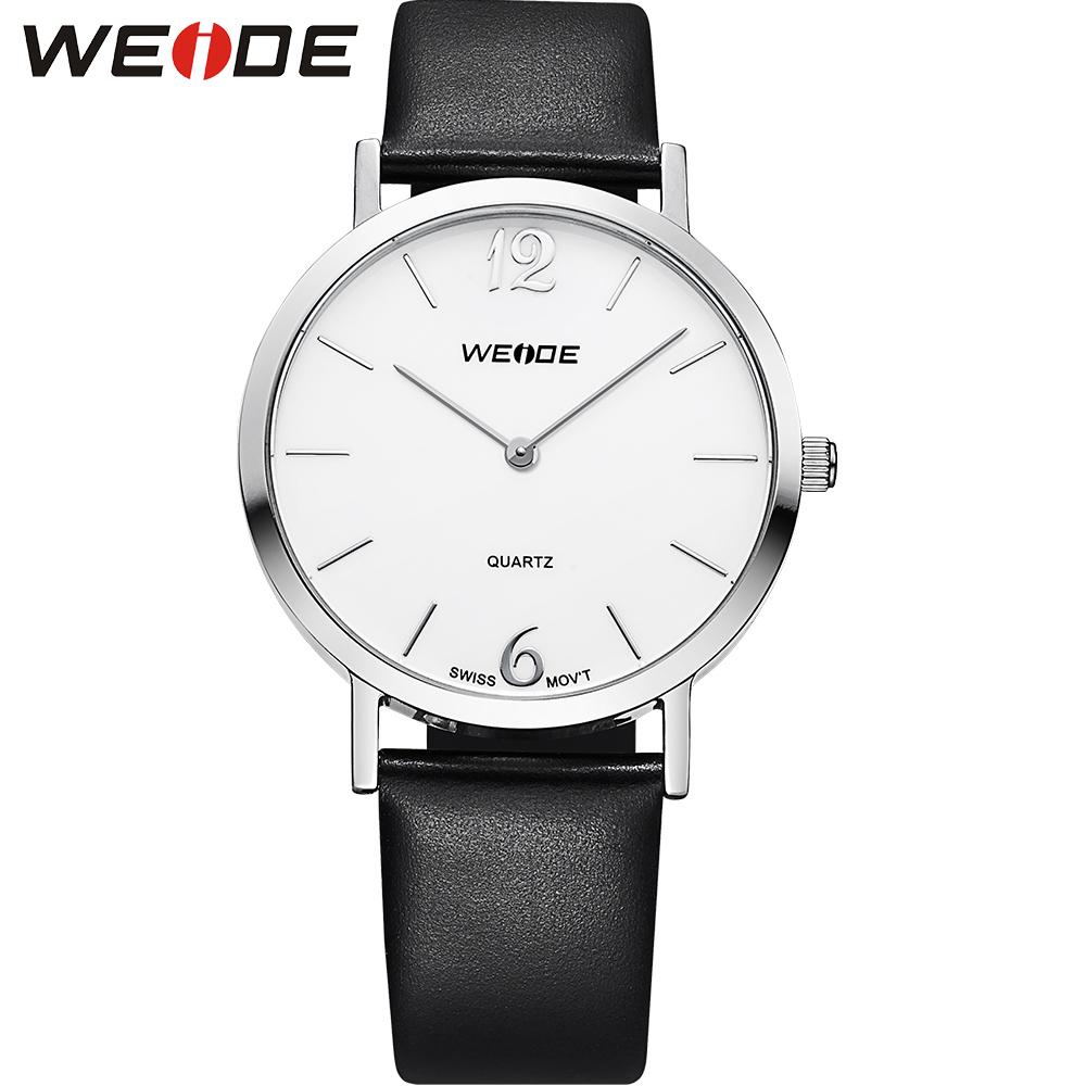 Luxury Brand WEIDE Watch Women Fashion Quartz Watches Leather Women Casual Dress Wristwatches 3ATM Water Resistant<br><br>Aliexpress