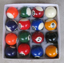 One Set 25mm or 32mm mini biliards ball pool children tool snooker balls(China (Mainland))