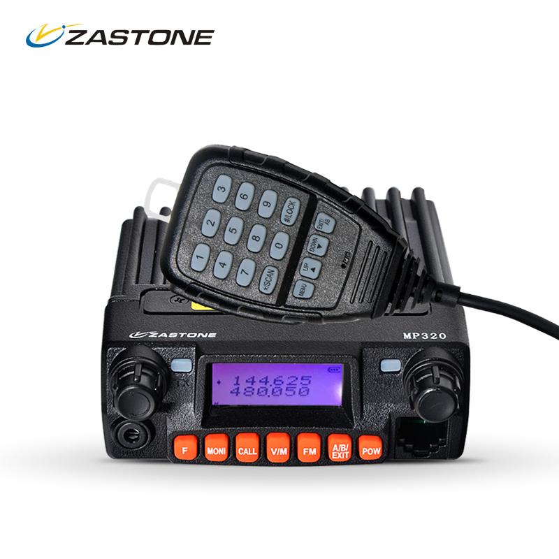 Zastone MP320 20W Powerful Mobile Radio Tri Band Car Radio VHF UHF 136-174/400-480MHZ 240-260MHz(China (Mainland))