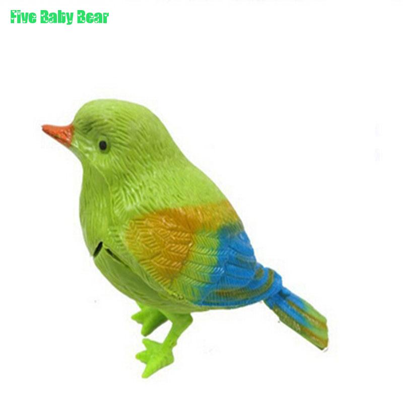 2016 Kid Toy Creative Multi Lovely Talking Bird Voice-activated Toy Cute Bauble Bird Juguetes Toys Brinquedo Brinquedos(China (Mainland))